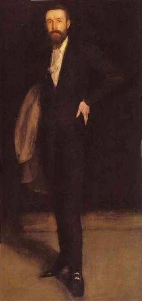 Arrangement in black portrait of f r leyland 1870 xx freer gallery of art washington dc usa